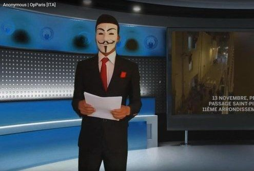 Anonymus minaccia Isis