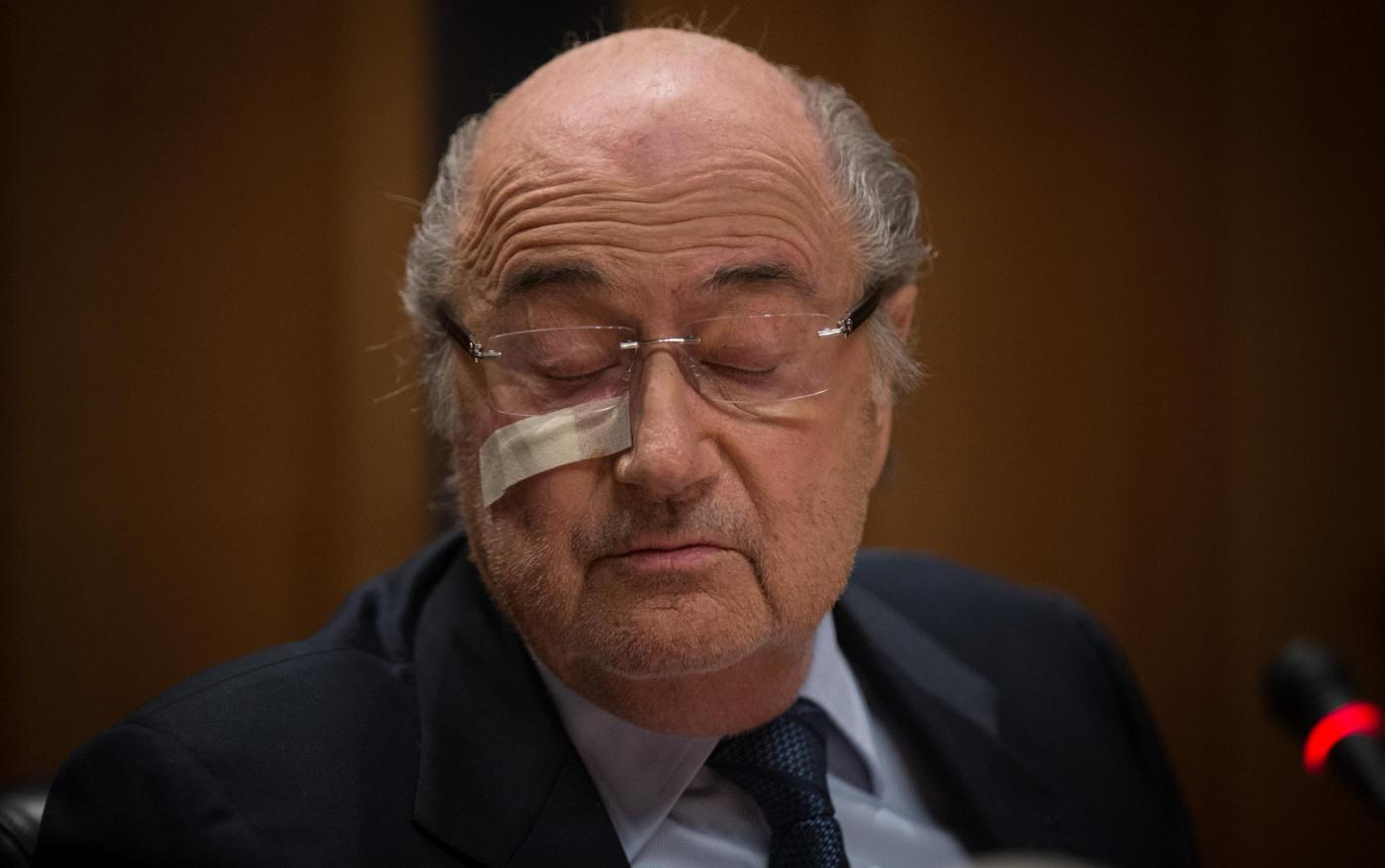 Zurigo, conferenza stampa di Sepp Blatter