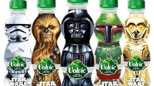Bottiglie Star Wars