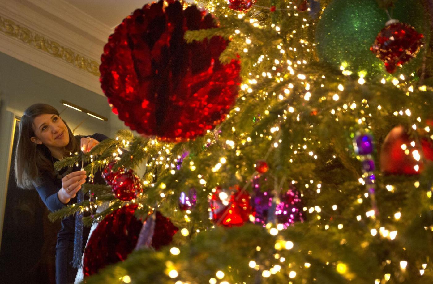 Albero di Natale al Palace Holyrood House