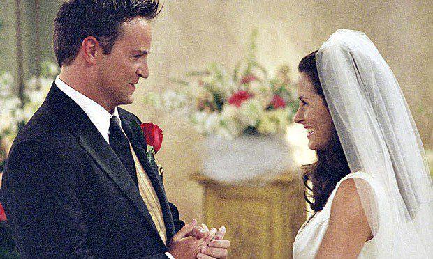 Friends il matrimonio Chandler Monica