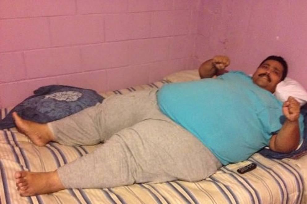 Mort l'uomo più grasso del mondo