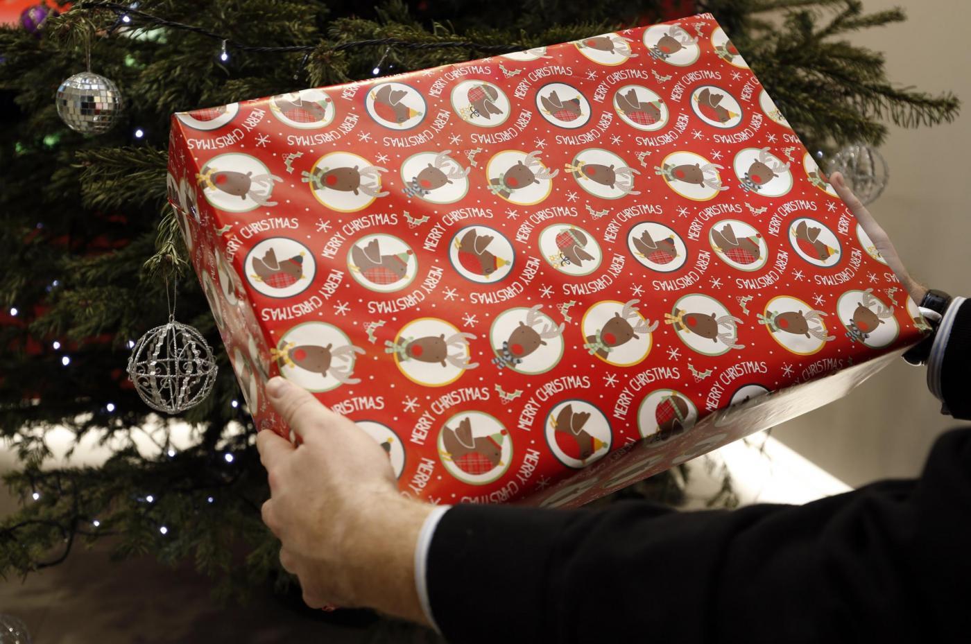 Pacco regalo di Natale