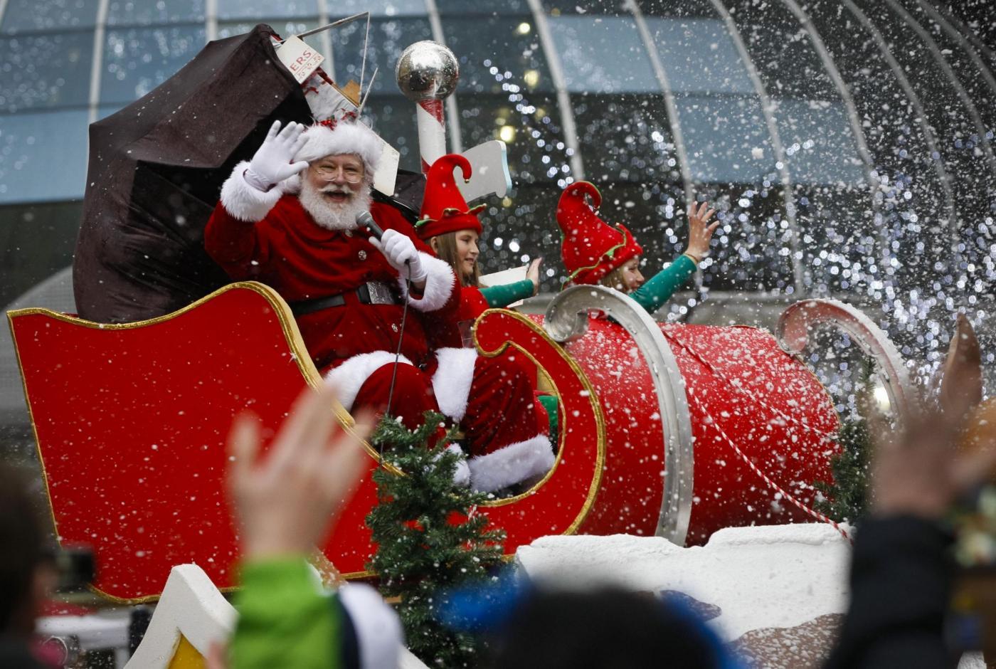 Santa Claus parade a Vancouver
