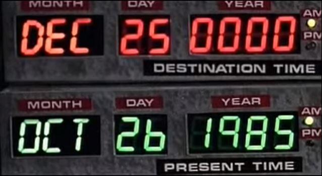 Ritorno al futuro 25 dicembre 0000