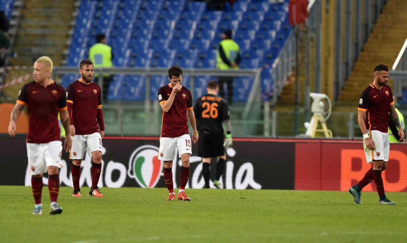 (SP)ITALY MILAN FOOTBALL SERIEA ROMA ATALANTA