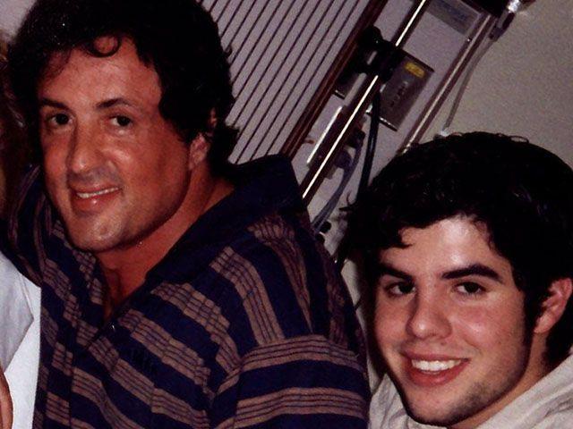 Sylvester e Sage Stallone