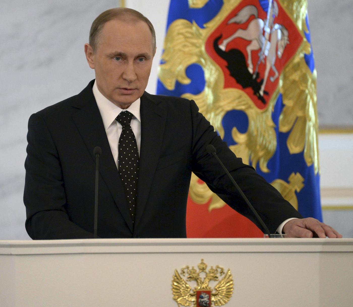 La minaccia di Putin: 'Spero non servano le armi nucleari'