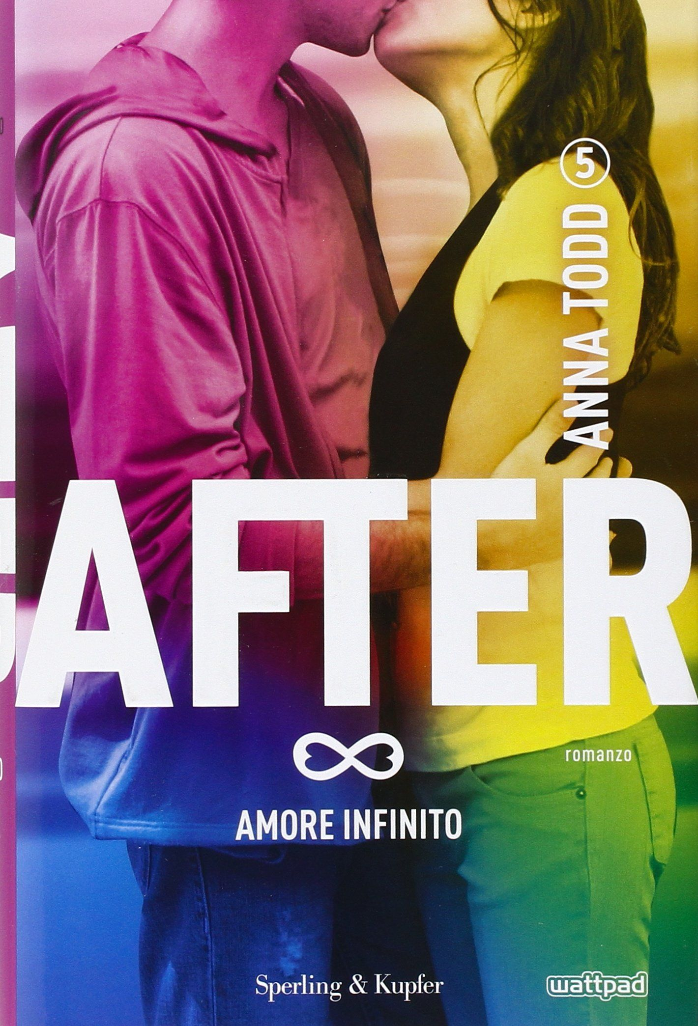 after 5 amore infinito, cover libro todd