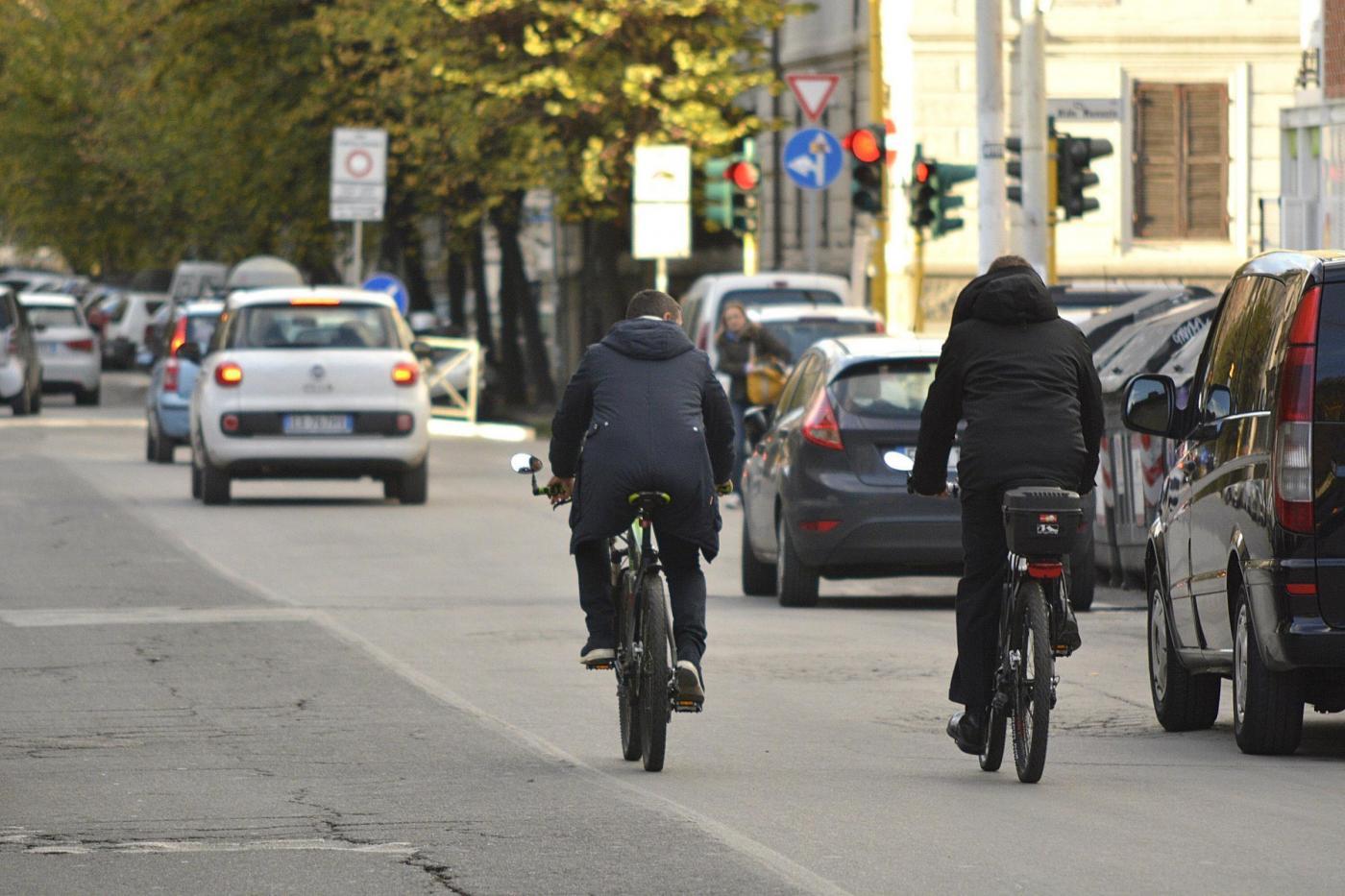 In bicicletta a Roma