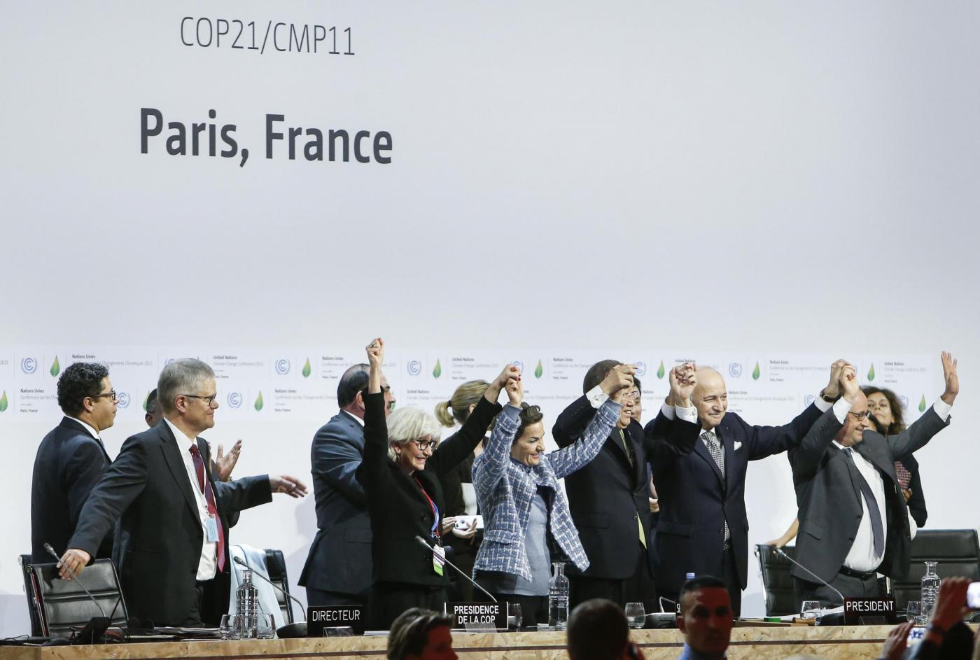 Conferenza mondiale sul clima a Le Bourget