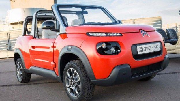Citroen E-Mehari: la nuova auto elettrica del Gruppo Bolloré
