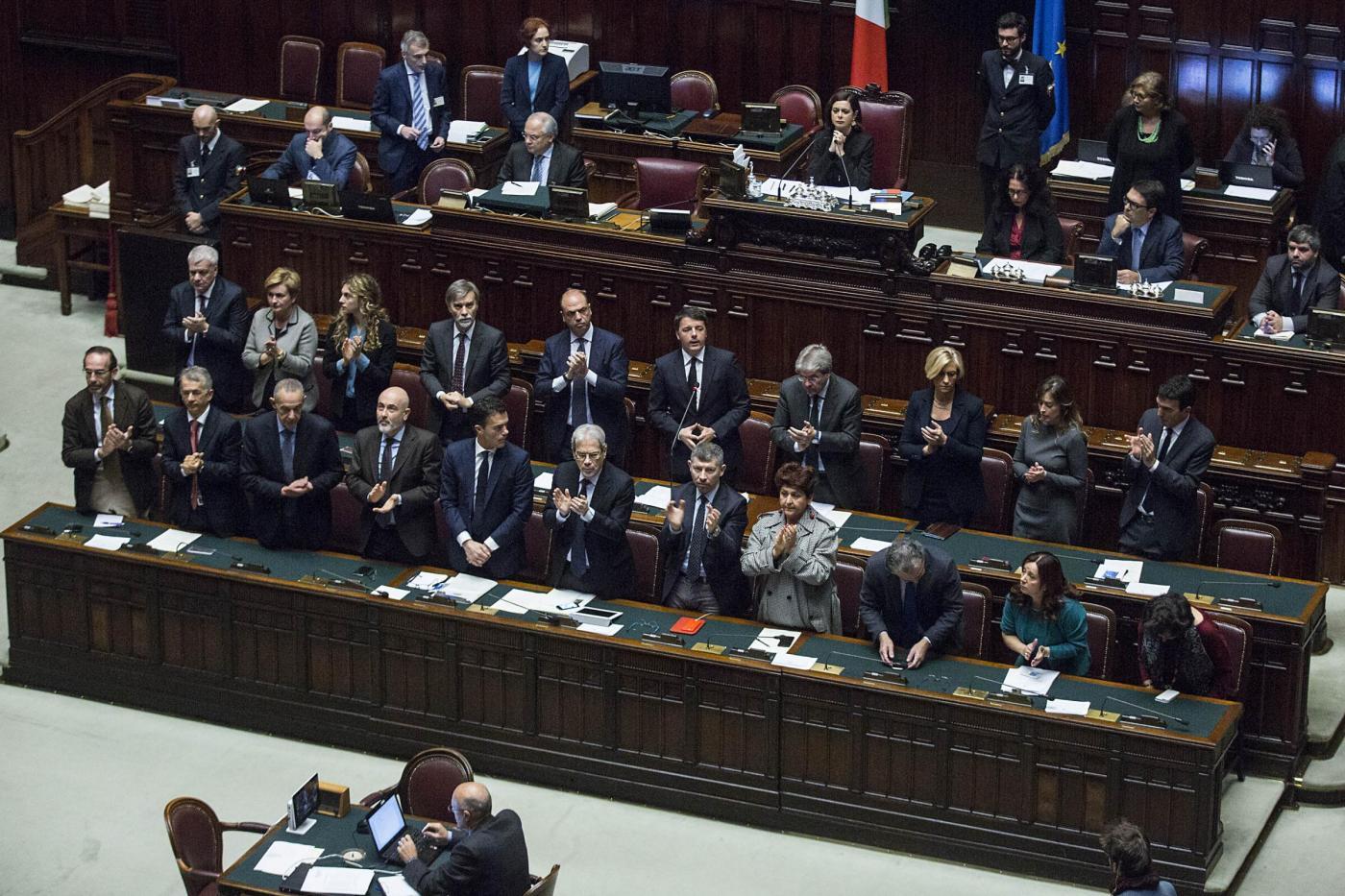 Il governo alla Camera