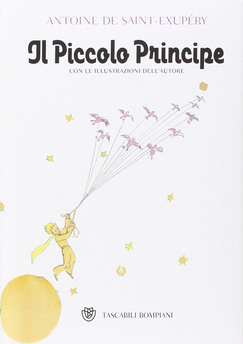 il piccolo principe, cover libro de saint exupery