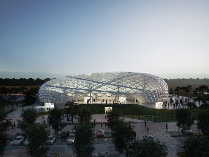 Nuovo Palazzetto dello sport di Lamezia Terme
