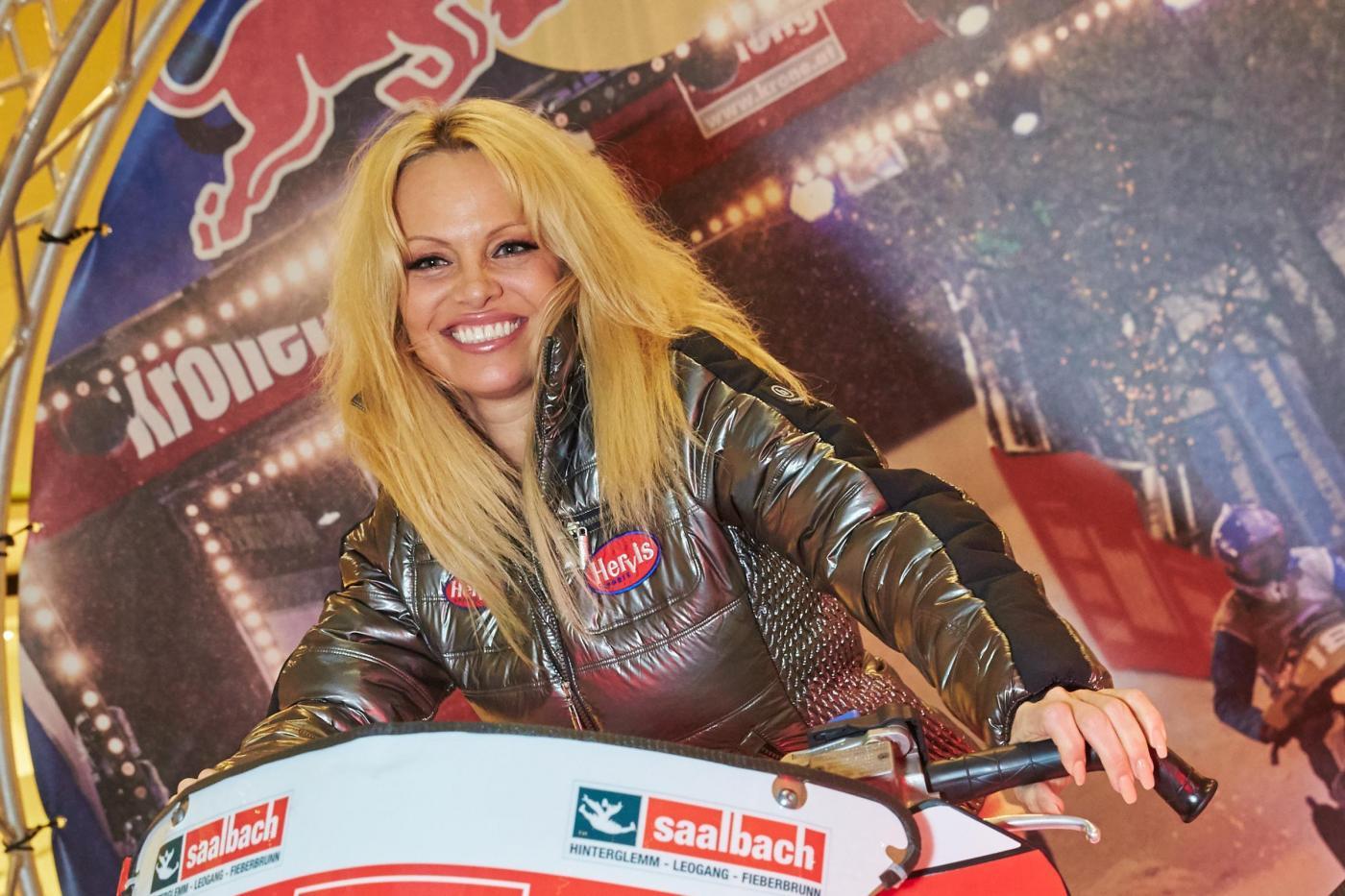 Pamela Anderson a Vienna