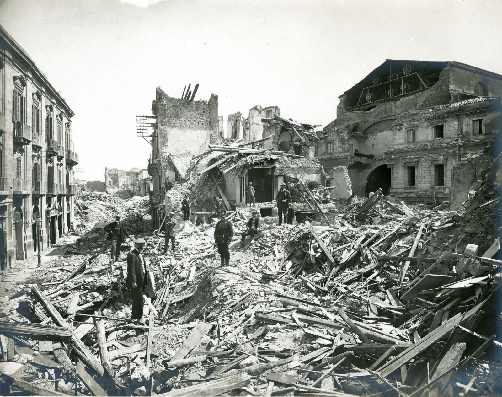 terremoto messina reggio calabria 1908