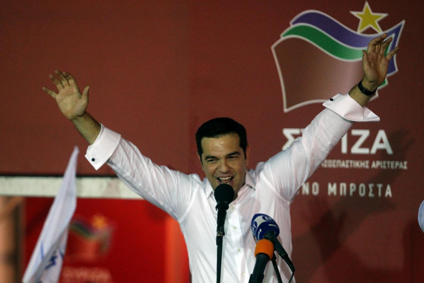 Elezioni in Grecia, Tsipras vince ancora