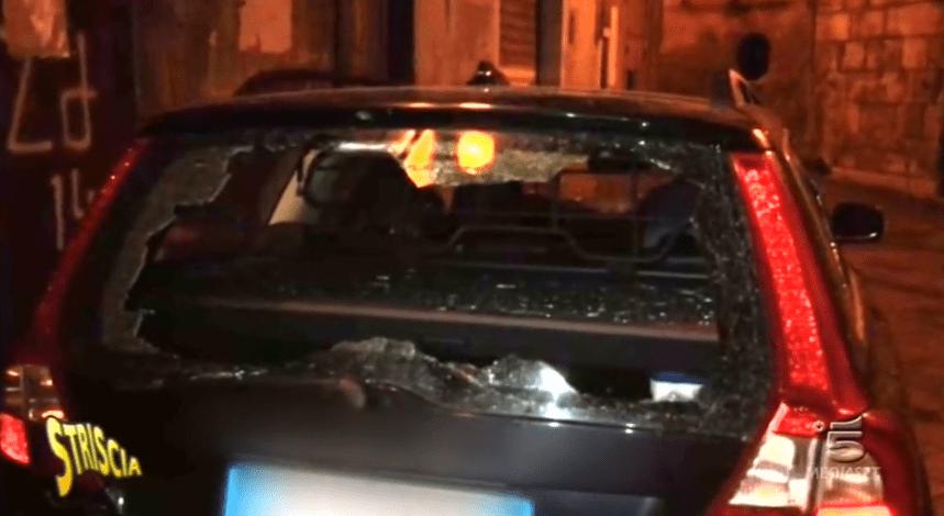 Stefania Petyx, ordigno distrugge la sua auto a Palermo: 'Non ho paura, torno a lavoro'