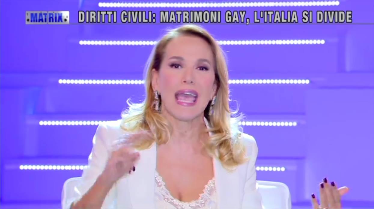 Barbara D'Urso gay