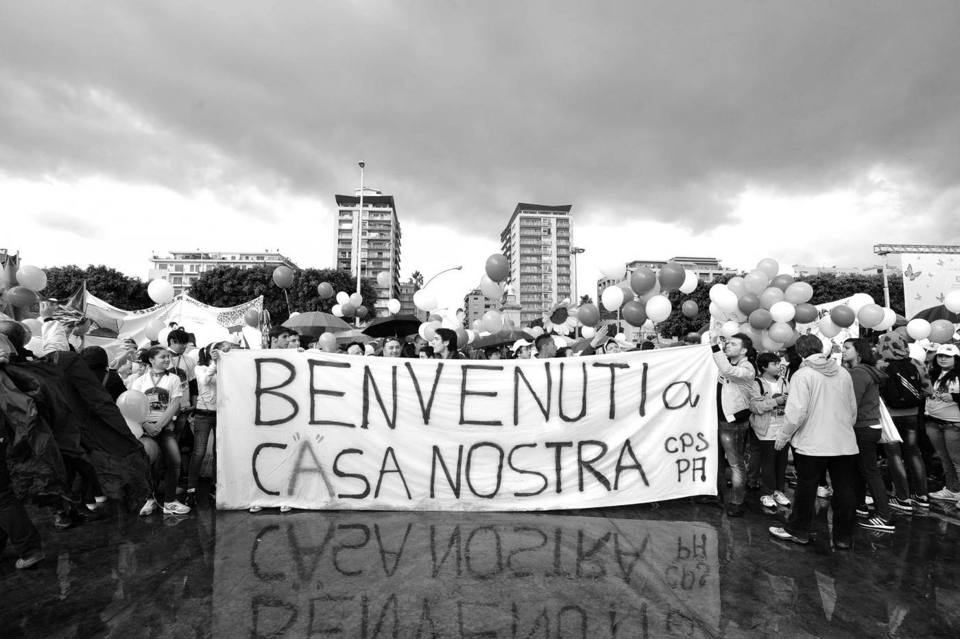 Palermo, la nave della legalità