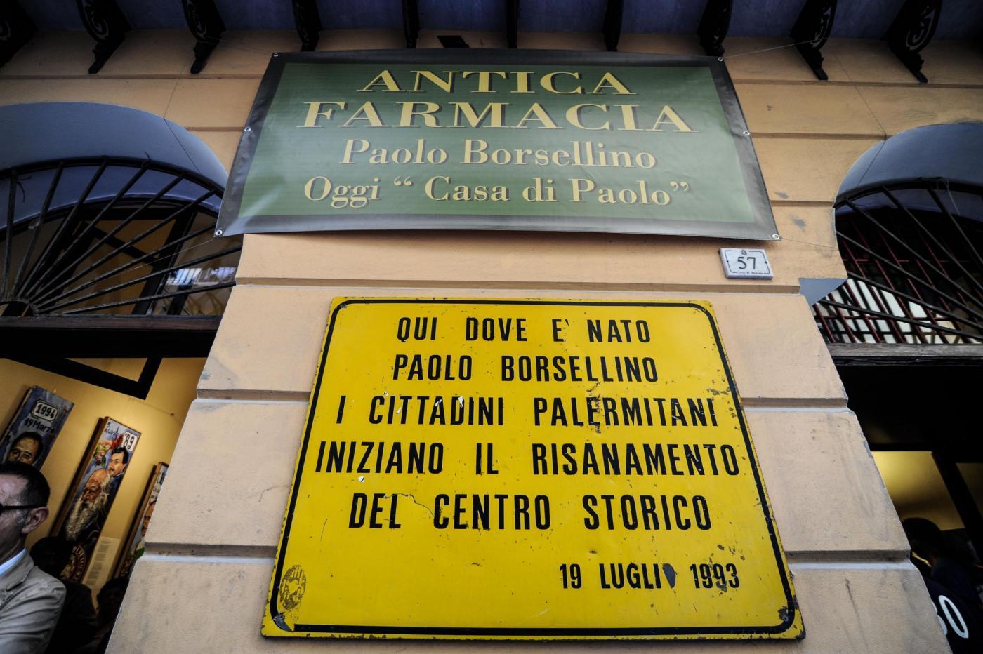 Inaugurazione della casa del giudice Paolo Borsellino