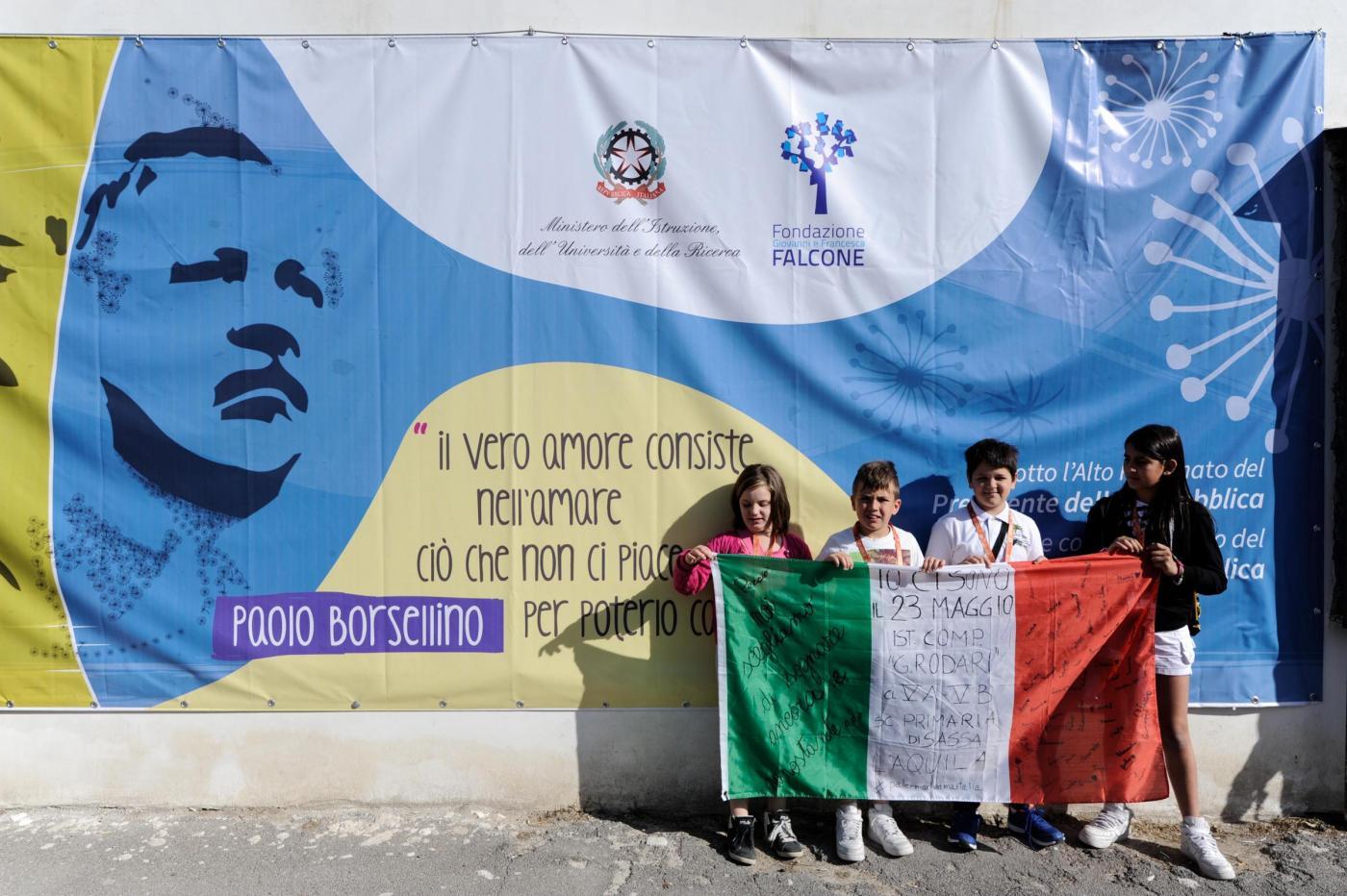 Palermo: commemorazione stragi di Capaci e Via D'Amelio