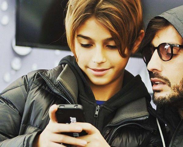 Nina Moric contro Fabrizio Corona: aperto su Instagram un profilo per il figlio tredicenne