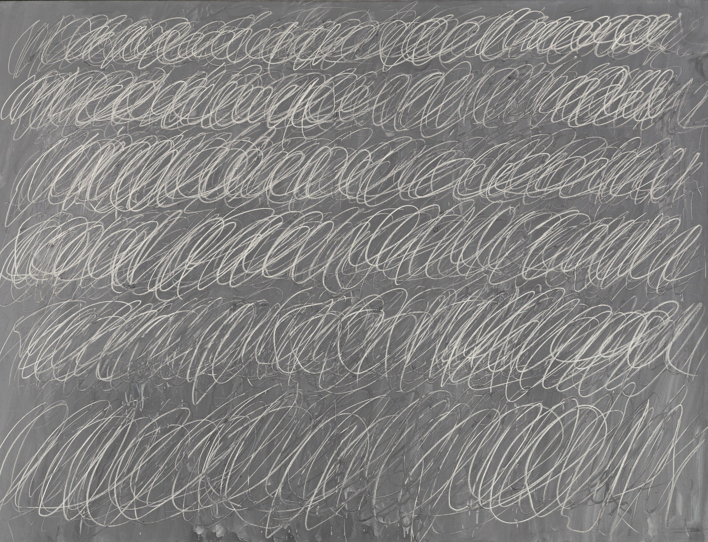 Cy Twombly, Untitled,