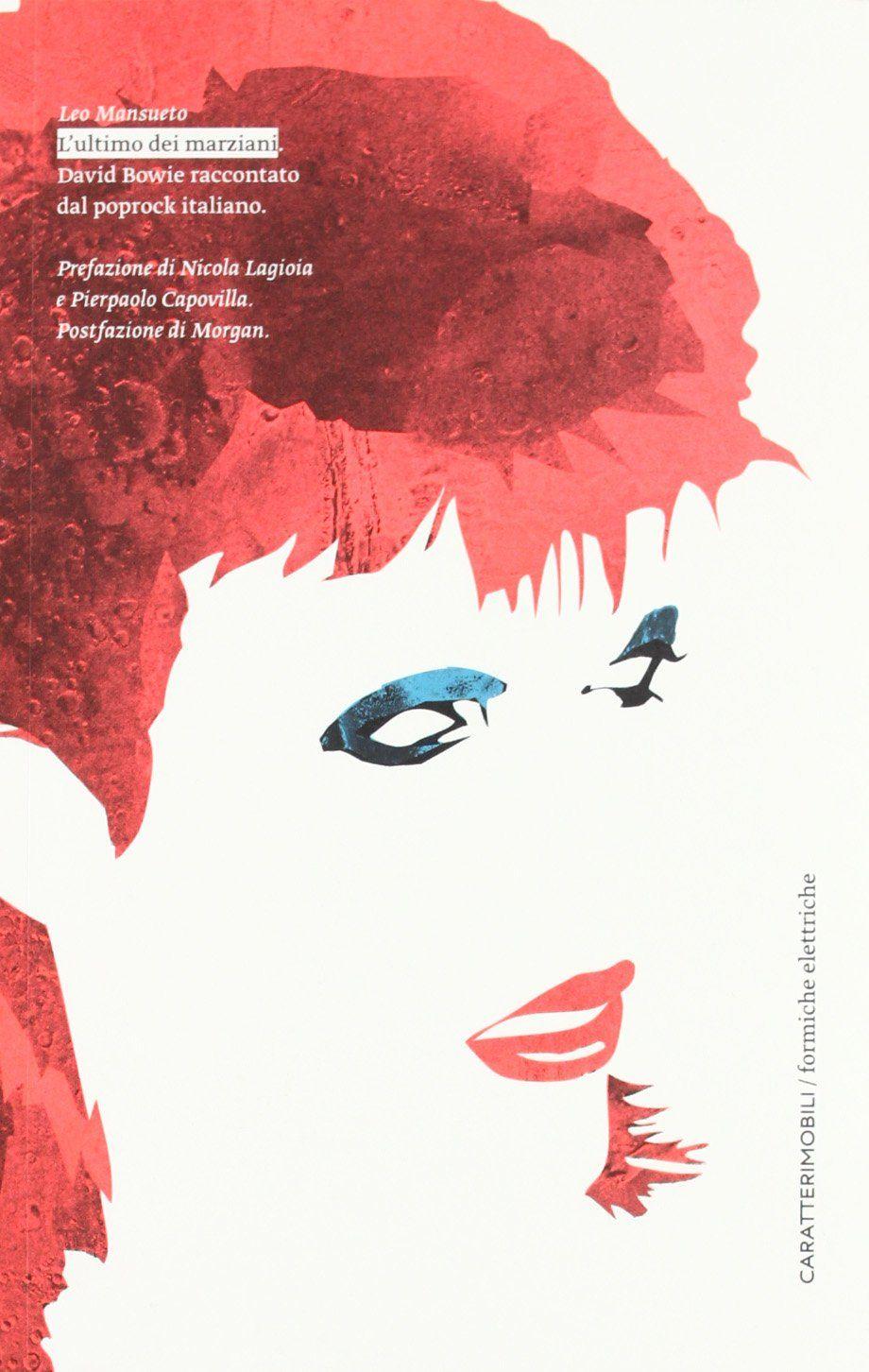 David Bowie, l'ultimo dei marziani, cover libro