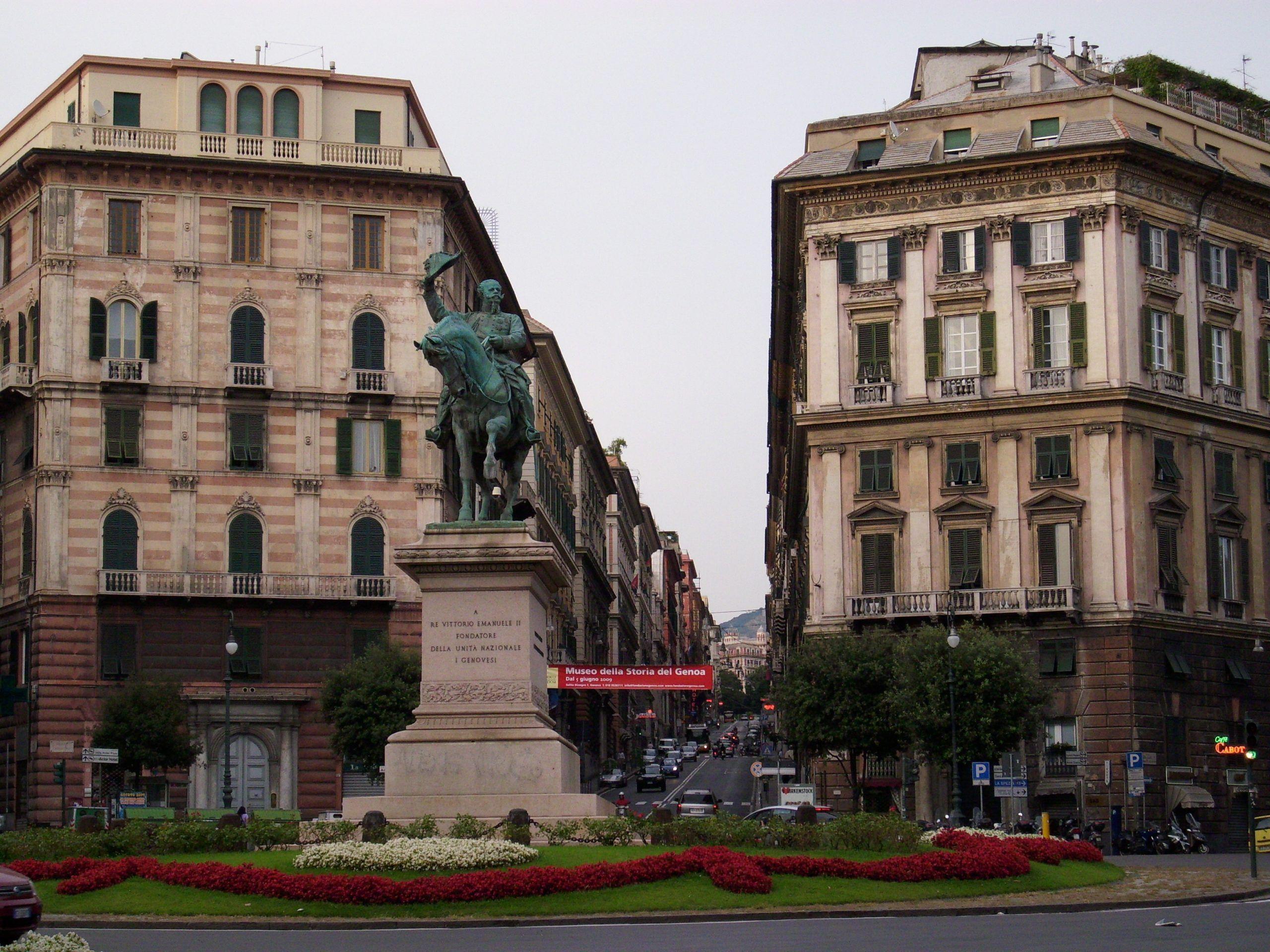 Genova incidente