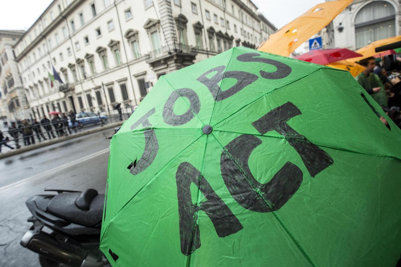 Flash Mob contro il Jobs Act