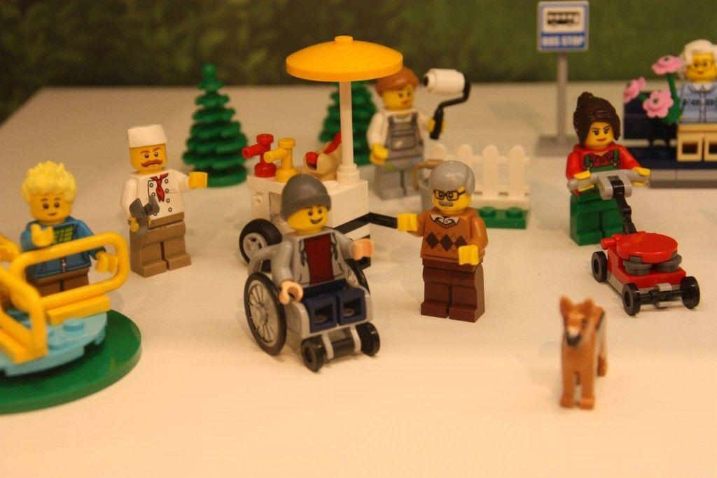 LEGO: sedia a rotelle per un personaggio che è già cult