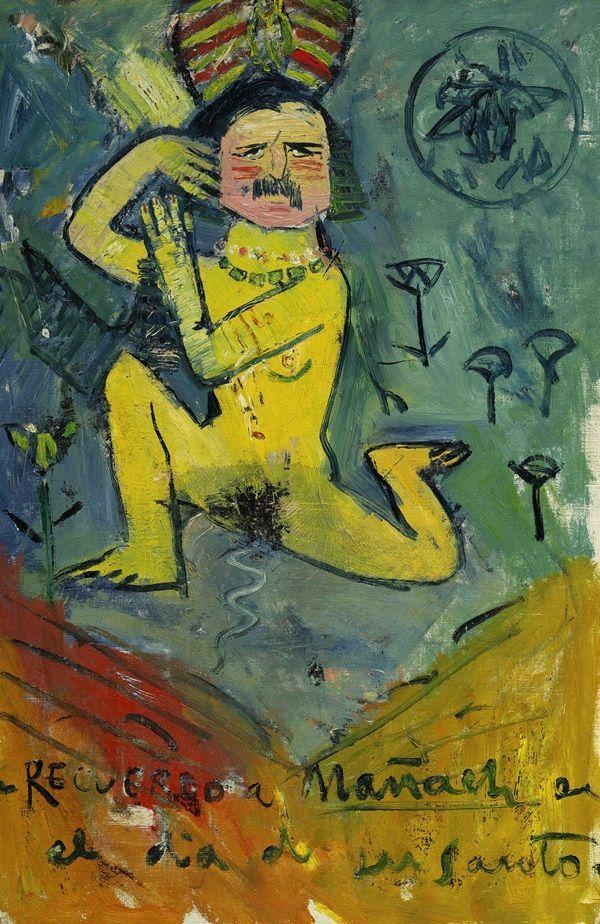 Pablo Picasso, Caricatura di Pere Mañach
