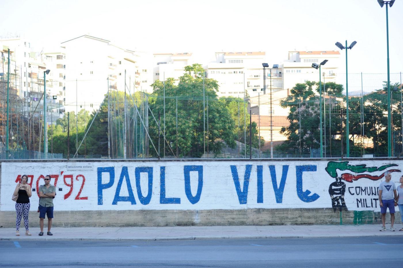 Commemorazione del 23° anniversario della strage di Via D'Amelio