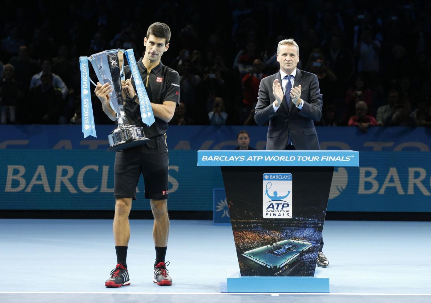 Forfait di Federer, Djokovic vince i Masters Cup di Londra
