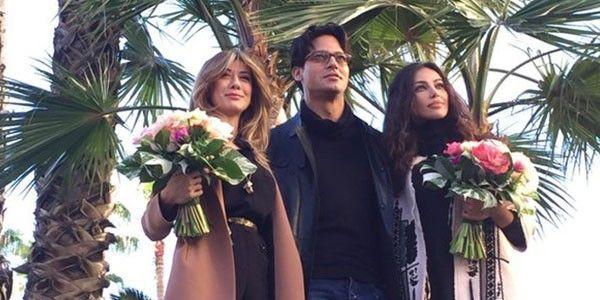 Vallette di Sanremo: Virginia Raffaele e Madalina Ghenea affiancate da Gabriel Garko