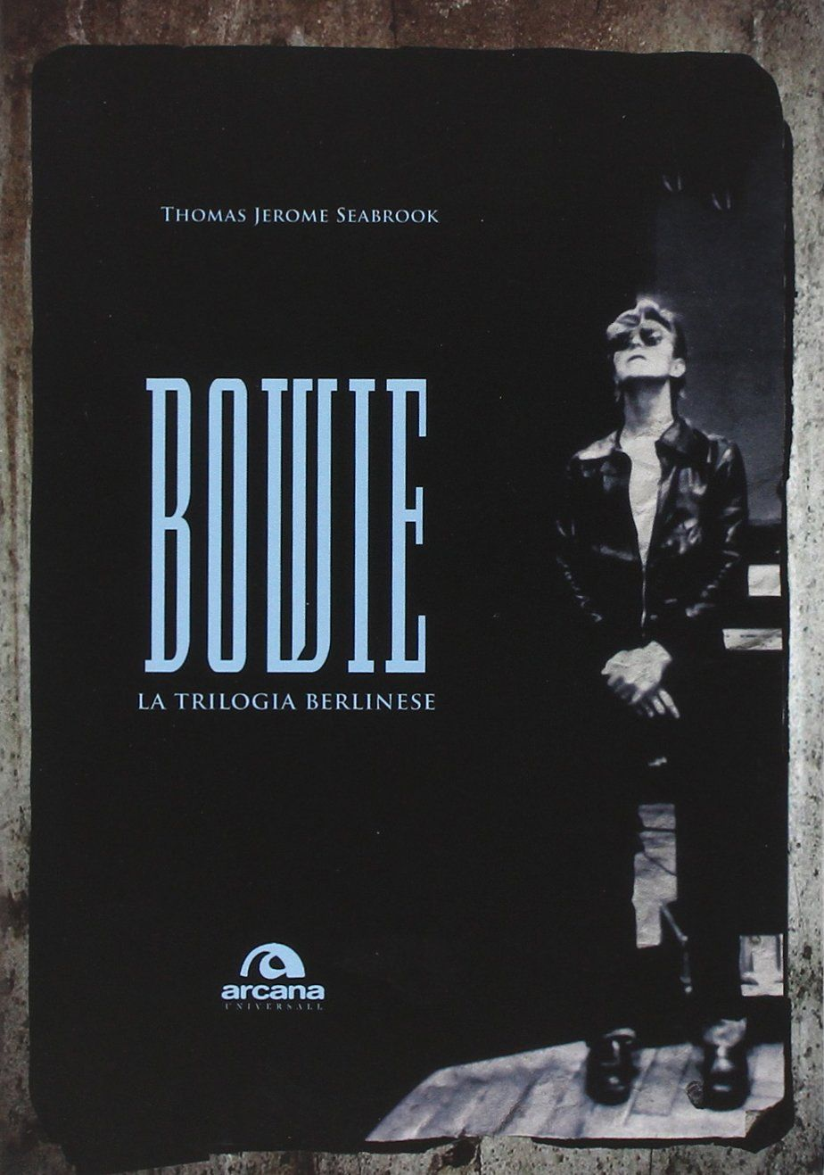 bowie, la trilogia berlinese, cover libro