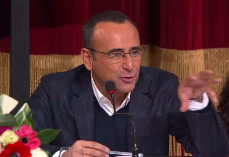 Carlo Conti prepara Sanremo e pensa il suo addio alla TV