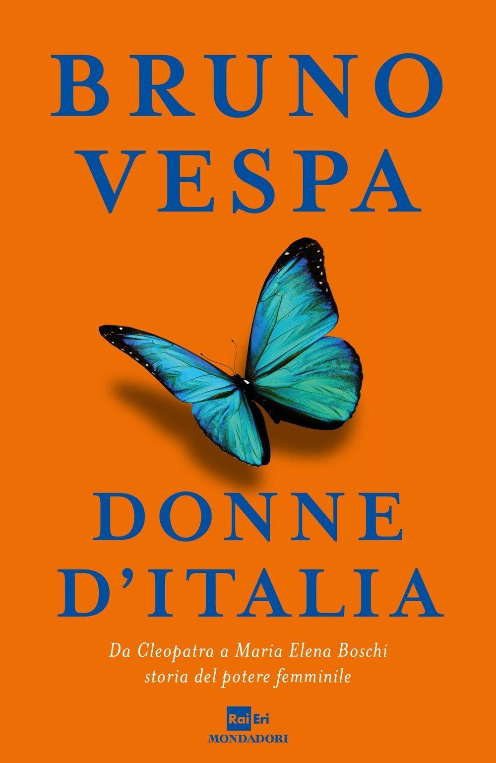 donne d'italia, bruno vespa, cover
