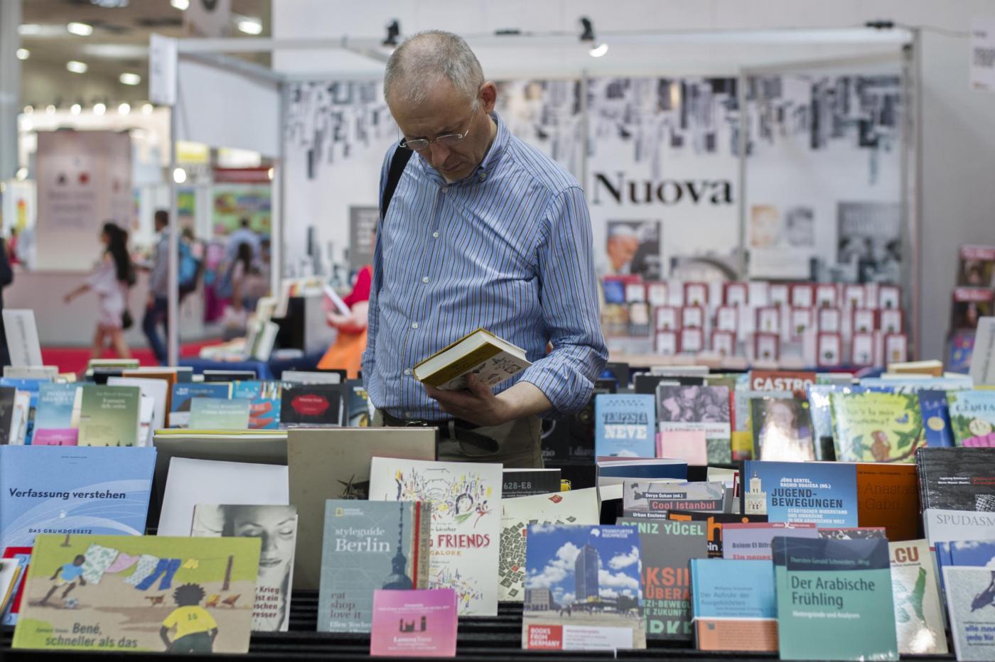 editoria italiana, in crescita vendita libri 2015