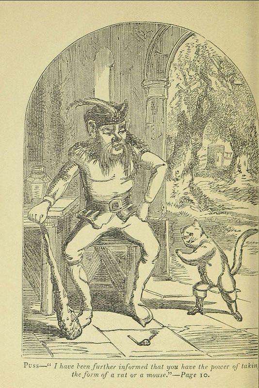 il gatto con lgi stivali, charles perrault
