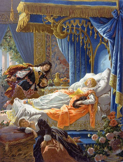 la bella addormentata, charles perrault