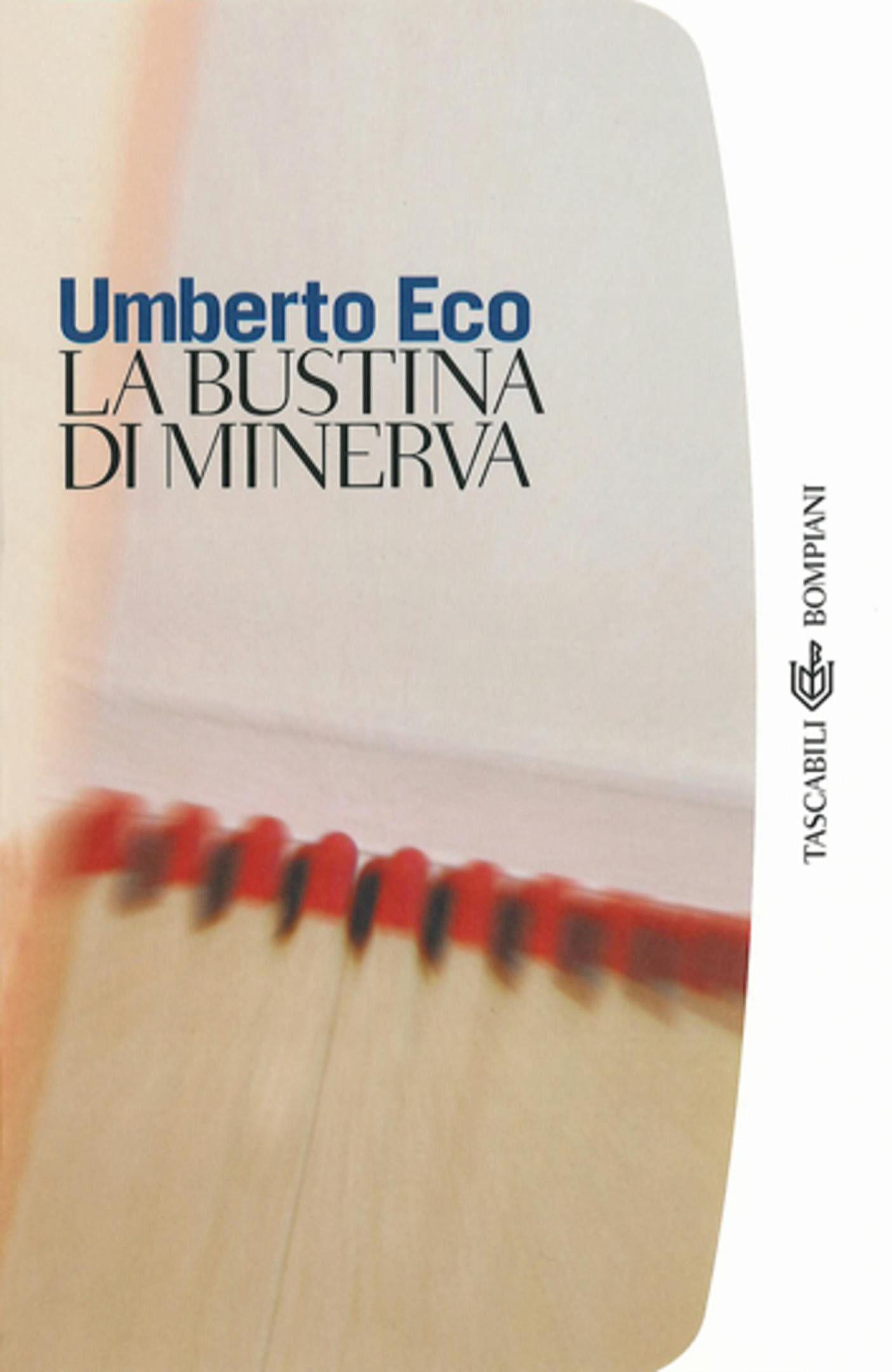 la bustina di minerva, eco, cover