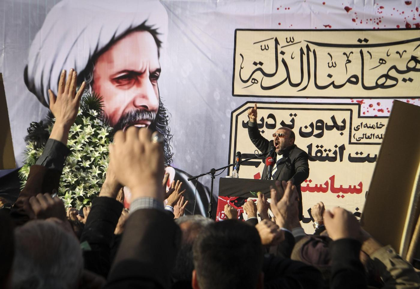 Iran, proteste contro l'Arabia per l'Imam ucciso