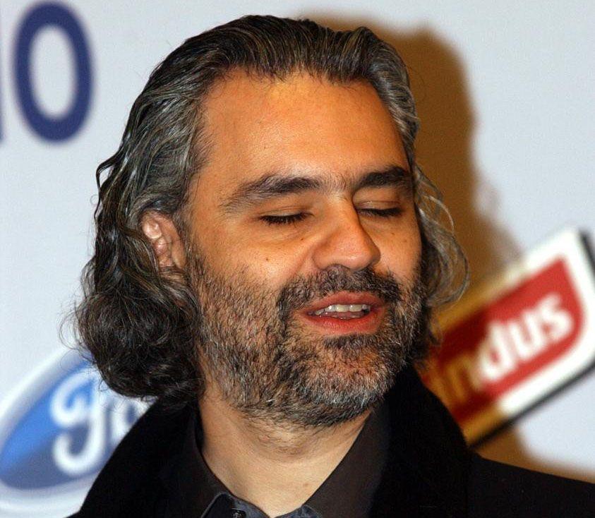 Andrea Bocelli Sanremo