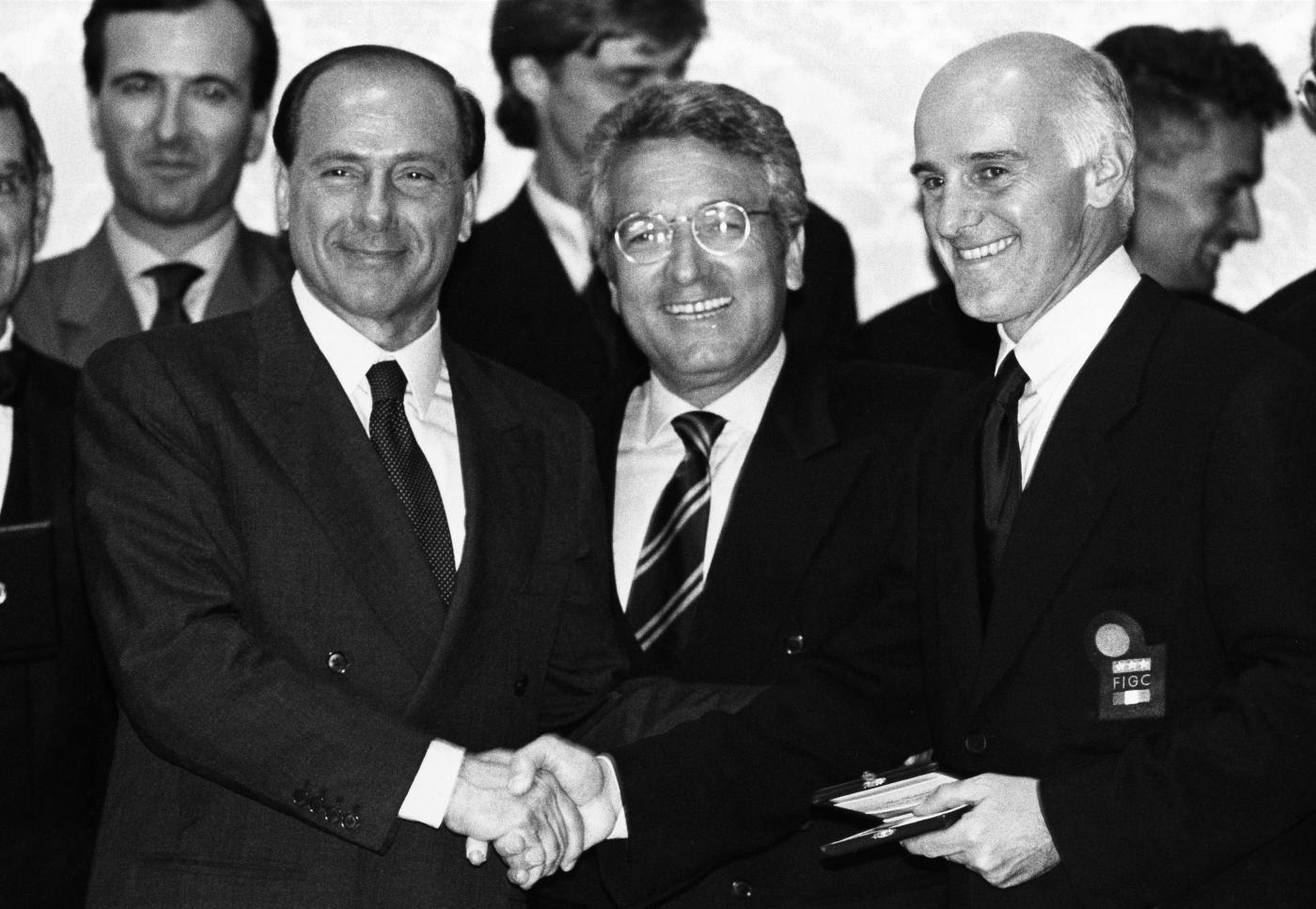 Berlusconi Sacchi Matarrese