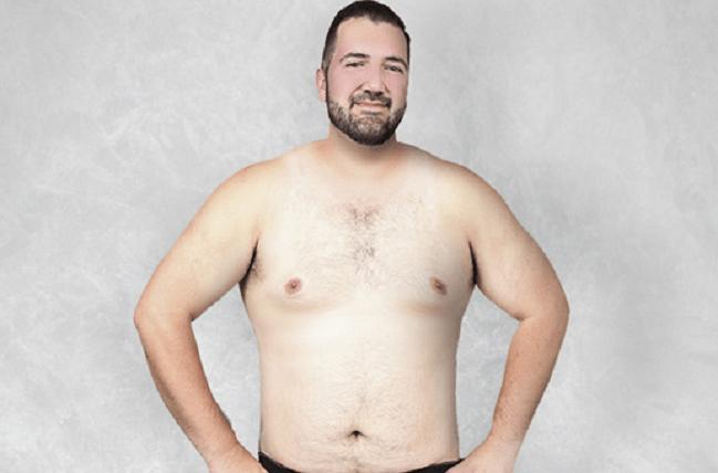 Corpo uomo perfetto