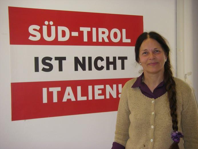 Eva Klotz difende la pensione d'oro
