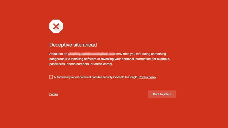Google blocco